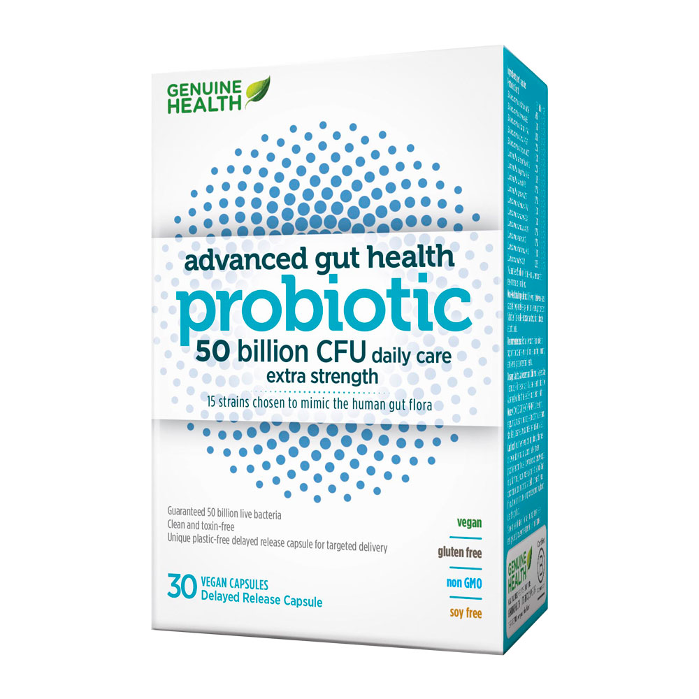 : Advanced Gut Health Probiotic - 50 Billion