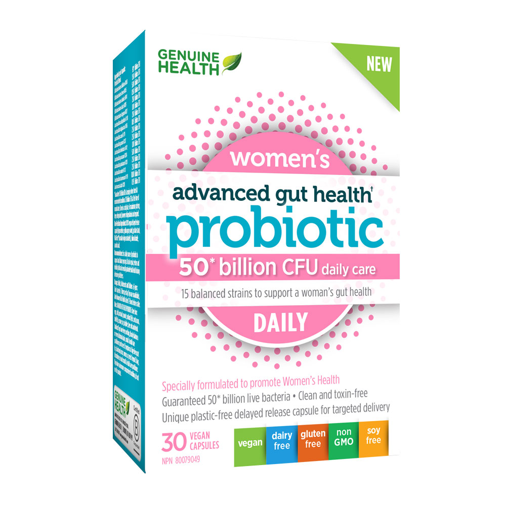 : Advanced Gut Health Probiotic - Women's Daily 50 Billion