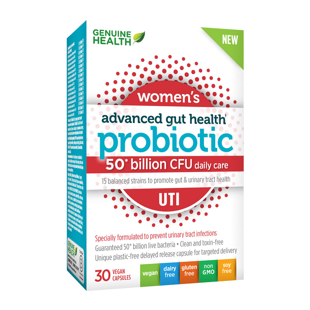 : Advanced Gut Health Probiotic - UTI 50 Billion