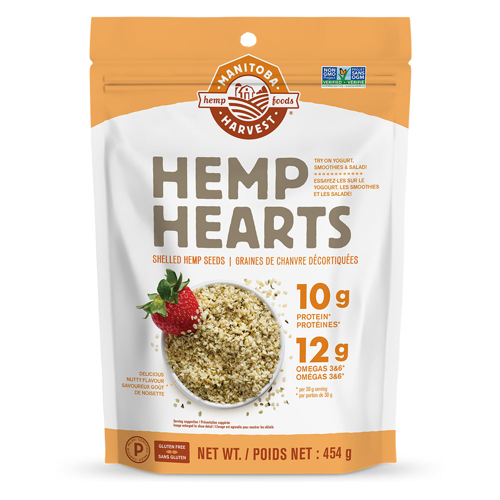 : Manitoba Harvest Natural Hemp Hearts, 454g